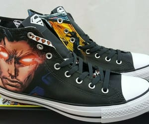 comics, dc comics, and converse image