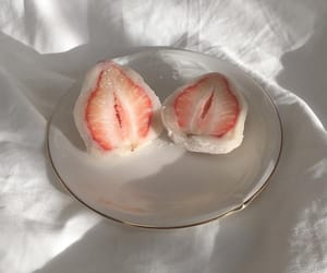 cafe, strawberry, and food image