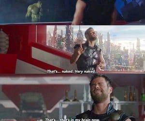 Avengers, chrishemsworth, and Hulk image
