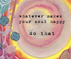 happy, paint, and quote image