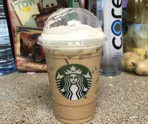 Cinnamon, coffee, and starbucks image