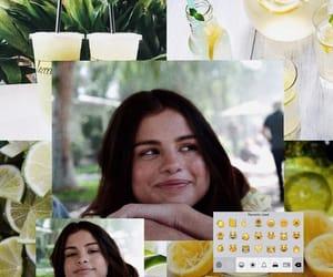 lemon, selena gomez, and wallpaper image