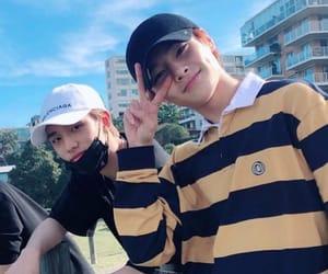 in, skz, and hyunjin image