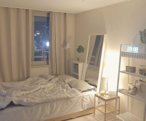 aesthetic, bed, and interior image