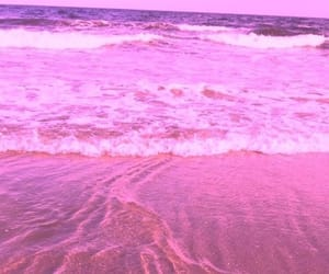pink, aesthetic, and ocean image