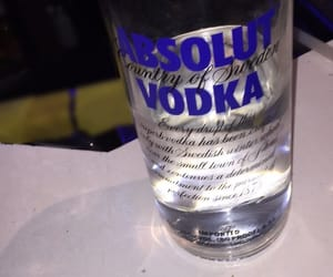 absolut, black, and drink image