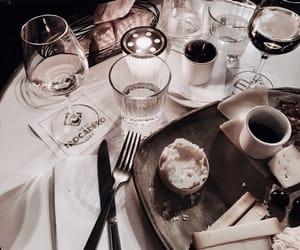 drinks, food, and wine image