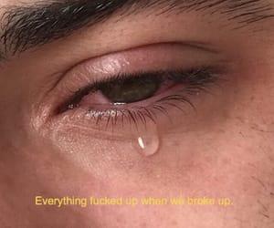 break up, broken, and heartbreak image