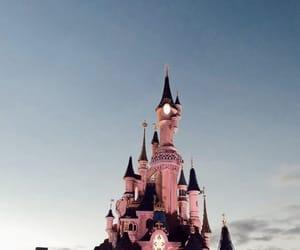 castle, disney, and beautiful image