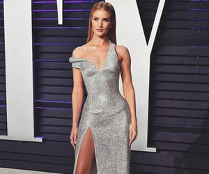 rosie huntington whiteley, model, and Versace image