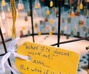 yellow, quotes, and tag image