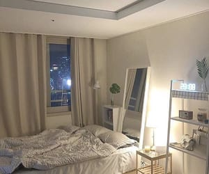 aesthetic, interior, and bed image