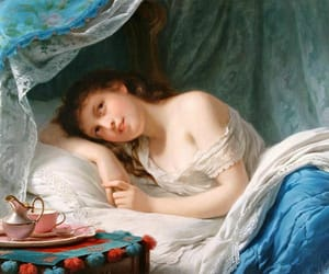 art, neoclassical, and Oil Painting image