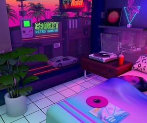 retro, aesthetic, and 80s image