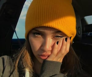 beanie, beautiful, and cool image