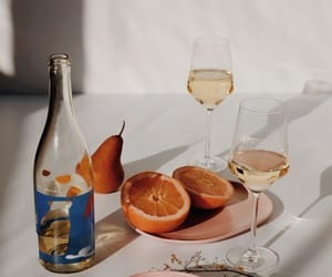 orange, drink, and wine image