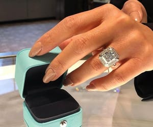 beautiful, diamond ring, and expensive image