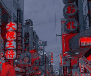 aesthetic, theme, and red image