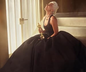 Lady gaga, oscar, and dress image