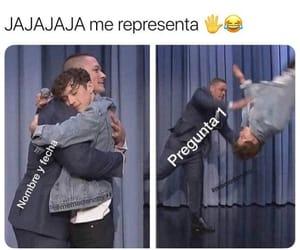 funny, memes en español, and divertido image