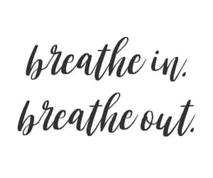 breathe, text, and texte image