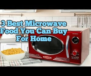 foods, Microwave, and video image