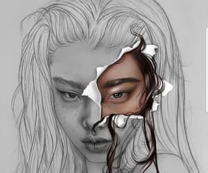 art, digital art, and drawing image