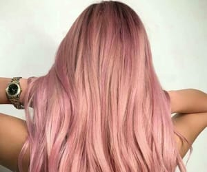 hair, pink, and Dream image