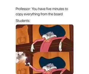 cartoon, college, and funny image