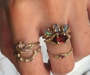 rings, jewelry, and style image