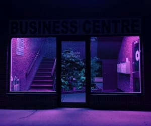 purple, aesthetic, and neon image
