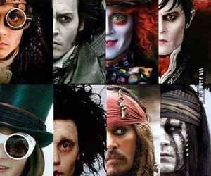 johnny depp, johnny, and actor image
