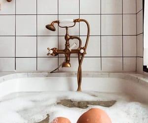 bath, golden, and inspiration image