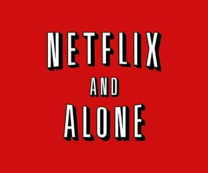 netflix, red, and wallpaper image