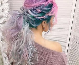 hair, colors, and beauty image