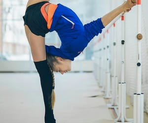 training, rhythmic gymnastics, and soldatova image