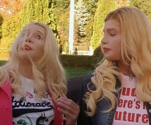 blonde and white chicks image