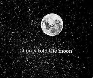 quotes, The Moon, and 🌑 image