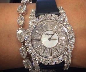 diamond, watch, and love image