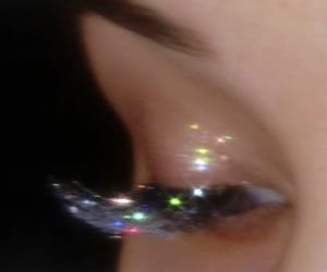 glitter, makeup, and sparkle image