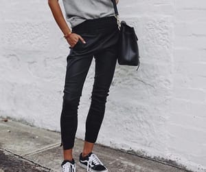 fashion, outfit, and bag image