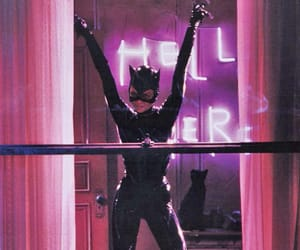 catwoman, batman, and cat image