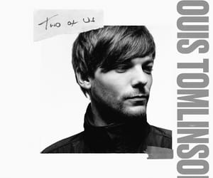 louis tomlinson, two of us, and one direction image