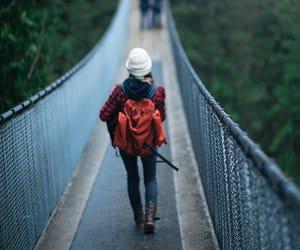 travel, bridge, and adventure image