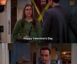 sheldon and Valentine's Day image