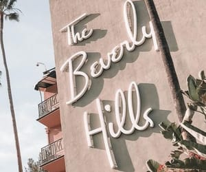 background, Beverly Hills, and pink image