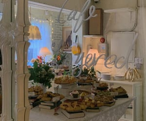 bakery, beige, and cafe image