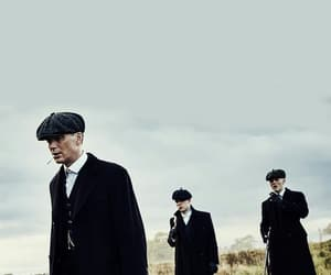 peaky blinders, tommy shelby, and thomas shelby image