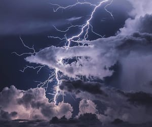 storm and nature image