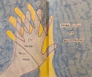 art, handwritten, and heartbreak image